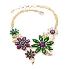 Amrita Singh | Della Floral Bib Necklace - Fashion Jewelry Necklaces | New!
