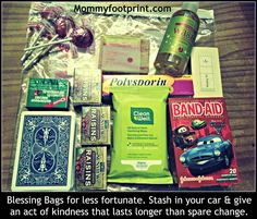 Blessing Bags – Random Acts of Kindness | Mommyfootprint.com