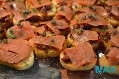 Salmon Crostini Appe