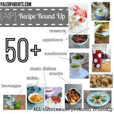 50+ AIP Recipe Round Up! http://bit.ly/AIProundup