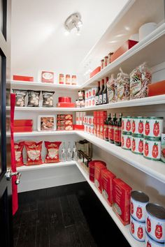 idea, color coordination, traditional kitchens, dream pantry, pantry design, pantries, kitchen organisation, shelv, basement storage