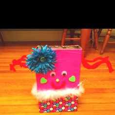 Margie's valentines box.