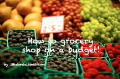 Grocery Shop on a budget ideas stay healthi, budget, idea, shops, groceri shop, healthy recipes, healthy foods, frozen foods, coupon