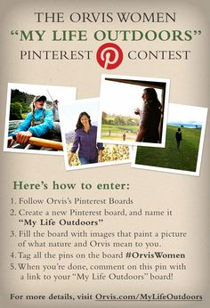 Visit http://www.orvis.com/mylifeoutdoors for details  #contest #pinittowinit