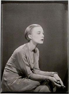 Man Ray, Karin van Leyden, Paris, circa 1929