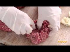 ▶ Cheese-Stuffed Burgers - Everyday Food with Sarah Carey - YouTube