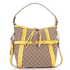 Gucci Hobo Bags 247185 GG Running Medium Yellow [dl9919] - $188.89 : Gucci Outlet, Cheap Gucci online,Gucci UK