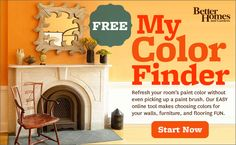 This would be cool.  You can upload a photo of a room in your house and play with different paint schemes.  Better Homes & Gardens Online