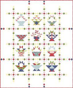 Basket blocks - piecemeal quilts blog