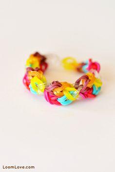 I love the Rainbow Loom