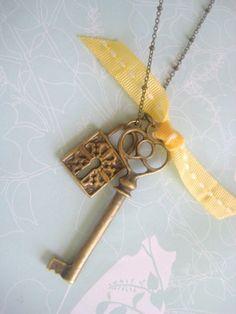 under lock and key.