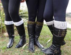 Receita Boot Cuffs