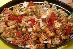 Supreme Pizza Pasta Salad Recipe : Rachael Ray : Food Network - FoodNetwork.com