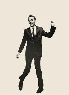 Doing a little dance. :D #VincentKartheiser #MadMen #PeteCampbell