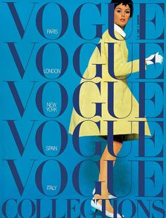 Vogue March 1967 COVER: David Bailey MODEL: Jean Shrimpton