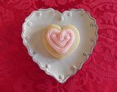 Sweet Heart Sugar Cookies with Buttercream Frosting and Glitter $18 for 12