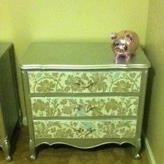 Silver furniture redo