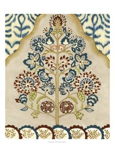 gicle print, tapestri tree