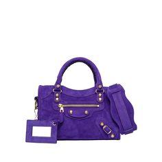 Balenciaga Baby Daim Giant Gold Mini City Balenciaga - Cross Body Bags Women - Handbags Balenciaga