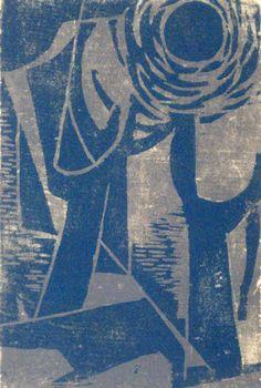 Haas, Hildegarde, Blue Sun, 1947