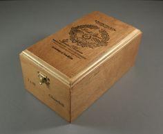 K. Hansotia Park Avenue Cedar Cigar Box / Humidor by UBlinkItsGone