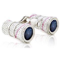 Milana Optics Swarovski Crystal with Rosaline Opera Glasses- love this