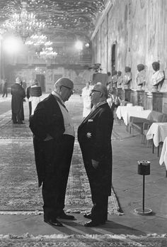 Leonard Freed - Reception Schloss Herrenhausen, 1965