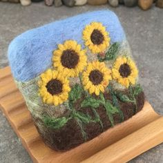 Felted Soap - Unscen