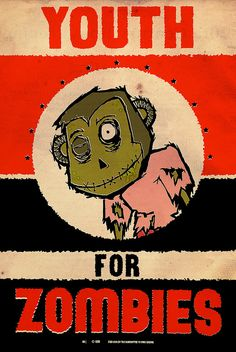 Youth for Zombies, via Flickr.