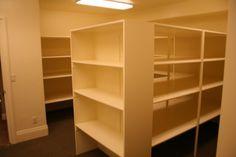 storage rooms, food storage, dream pantry, extra rooms, extra bedroom