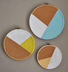 DIY Craft Tutorial - Cork Board Idea