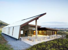 Hawaii Preparatory Academy's Energy Lab, #LEED Platinum, Kamuela, Hawaii by @faiarchitects