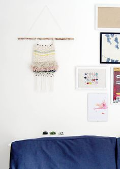 Fall For DIY Woven Wall Hanging Tutorial 8