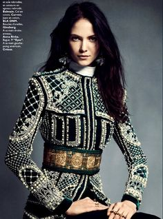 Baroque Luxe by Honer Akrawi for Grazia France 2013