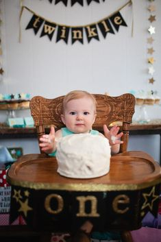 Adorable High Chair/