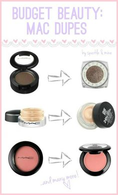Tired of paying good money for expensive make up brands? Well, this article tells you how to get high quality drugstore look-alikes of your favorite brands!