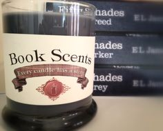 Fifty Shades - Book Inspired Candle - Hand Poured, 10 oz soy blend container candle on Etsy, $14.00