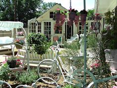 Penny's Vintage Home: The Potting Shed