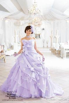 Japanese kawaii wedding dress