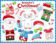 Freebie Christmas paper doll printable on Allsorts!