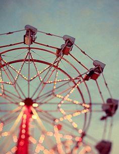 Carnival. Ferris Wheel. CaribouInspires.com