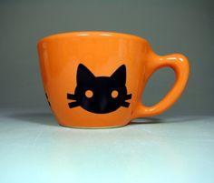 kitty mug - etsy