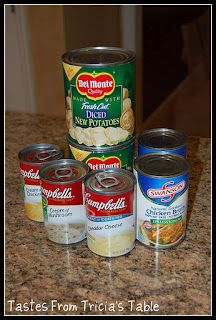 Easy Potato Soup for the Crock Pot- trying this!