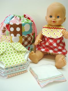 These are AWESOME patterns for baby doll clothes and accessories!.