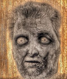 Zombie Selfie Nine Photograph ~ #zombies #greetingcards #thewalkingdead #undead (yes, that's me - after a nap) :)