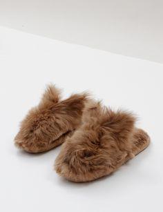 // rachel comey bunny slippers