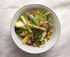 Farmer's market salad = dinner - Coconut and Quinoa