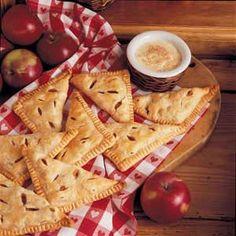 Apple Turnovers with Custard Recipe