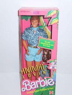 Barbie Doll 1988 Animal Lovin Ken (Toy Story Ken) | eBay