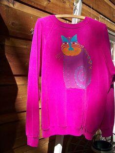 Laurel Burch sweatshirt